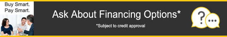 Ask About Financing Options!