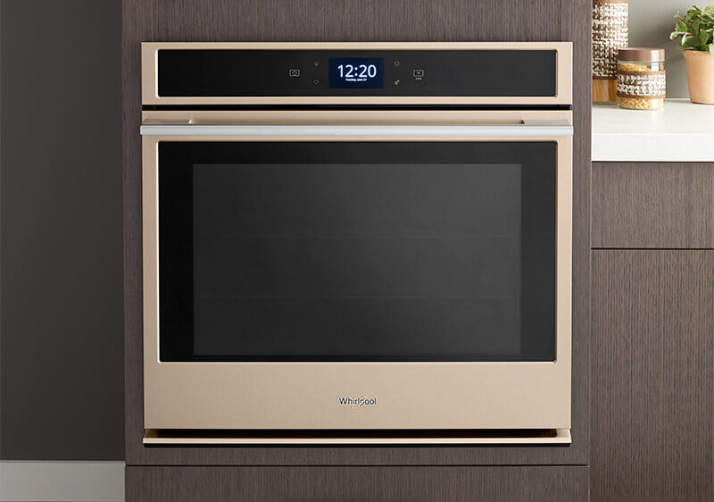 Sunset Bronze Built-in Wall Oven